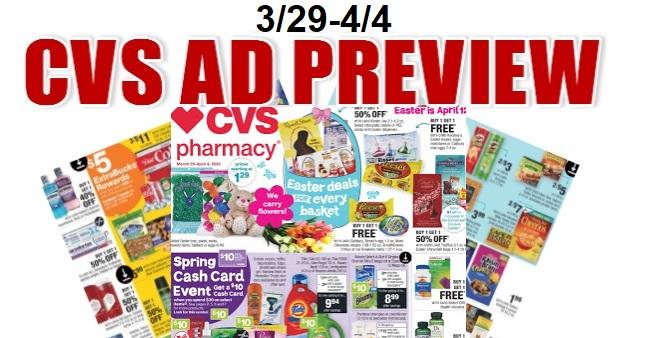 CVS Weekly Ad 3-29-4-4