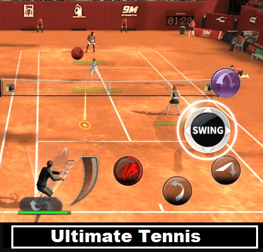 Ultimate Tennis multiplayer online android game