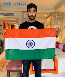 What is the monthly income of Jasprit Bumrah?