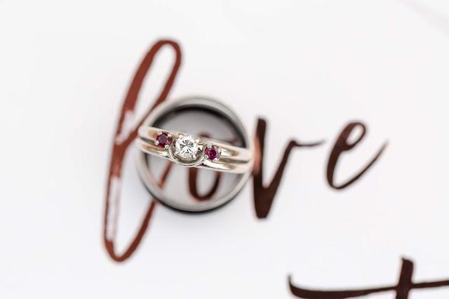 Shenandoah Mill Wedding Rings by Micah Carling Photography