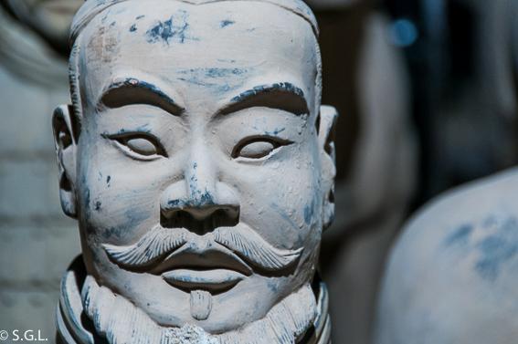 SOldado de Xian. Ejercito de Terracota