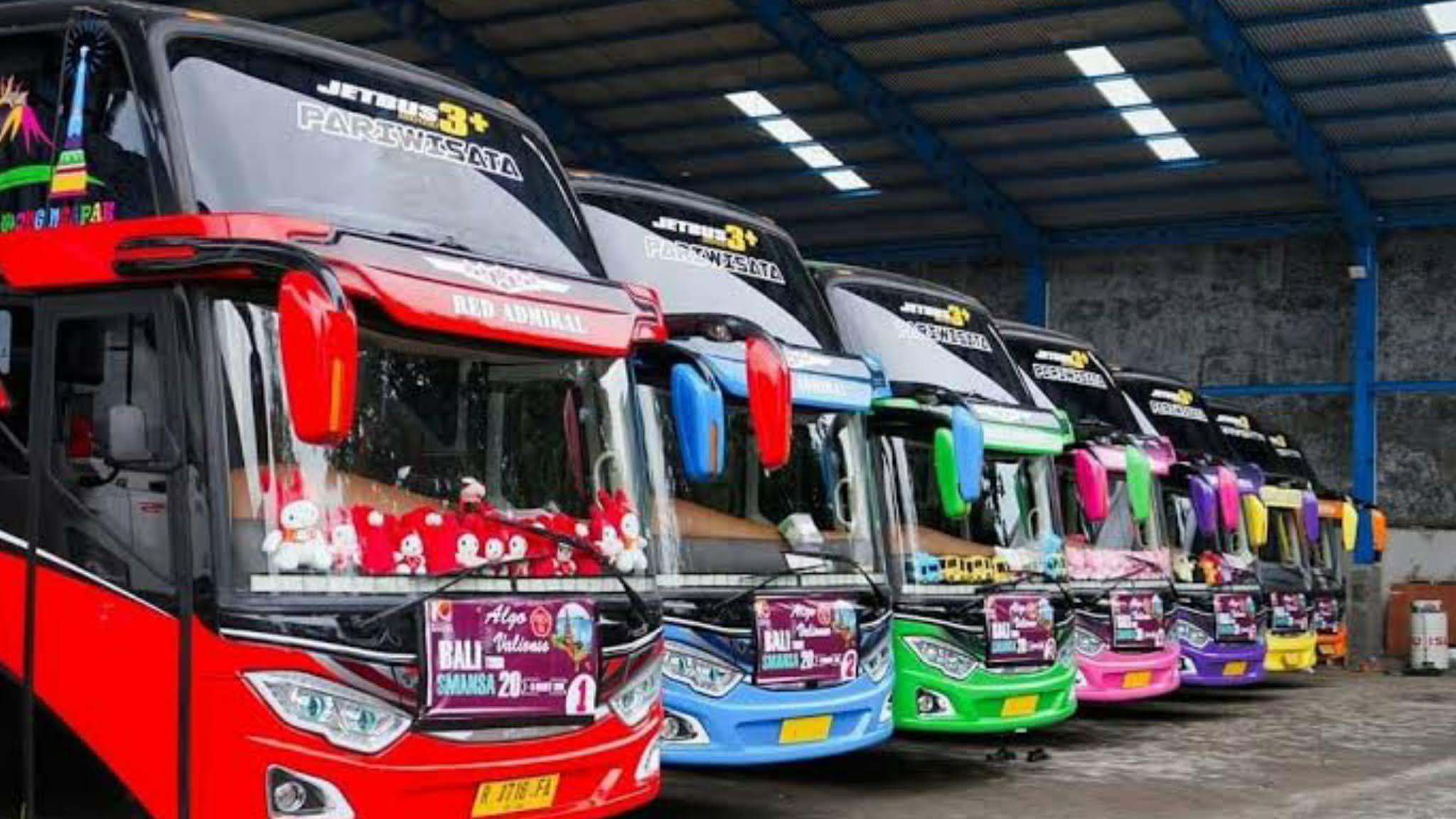daftar harga sewa bus tour pariwisata bandar lempung lengkap