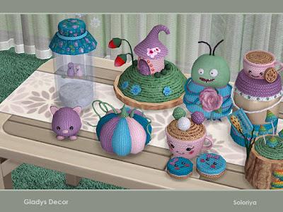 вязаные игрушки, Вязаные игрушки для The Sims 4, предметы для The Sims 4, Симс 4, Severinka_, моды для The Sims 4, мебель для The Sims 4, декор для The Sims 4, Severinka_ декор, декор для дома, декор в Sims 4, оформление дома, декор комнат, декор для Sims 4, интерьерный декор, игрушки детские для Sims 4, игрушки, для детей, декор для детской, детское, оформление детской, функциональные игрушки,