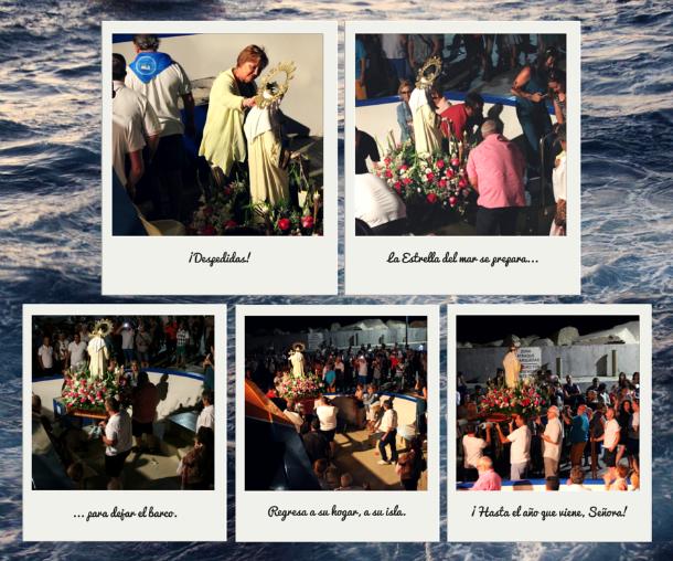 Virgen del Carmen de Tabarca procesión