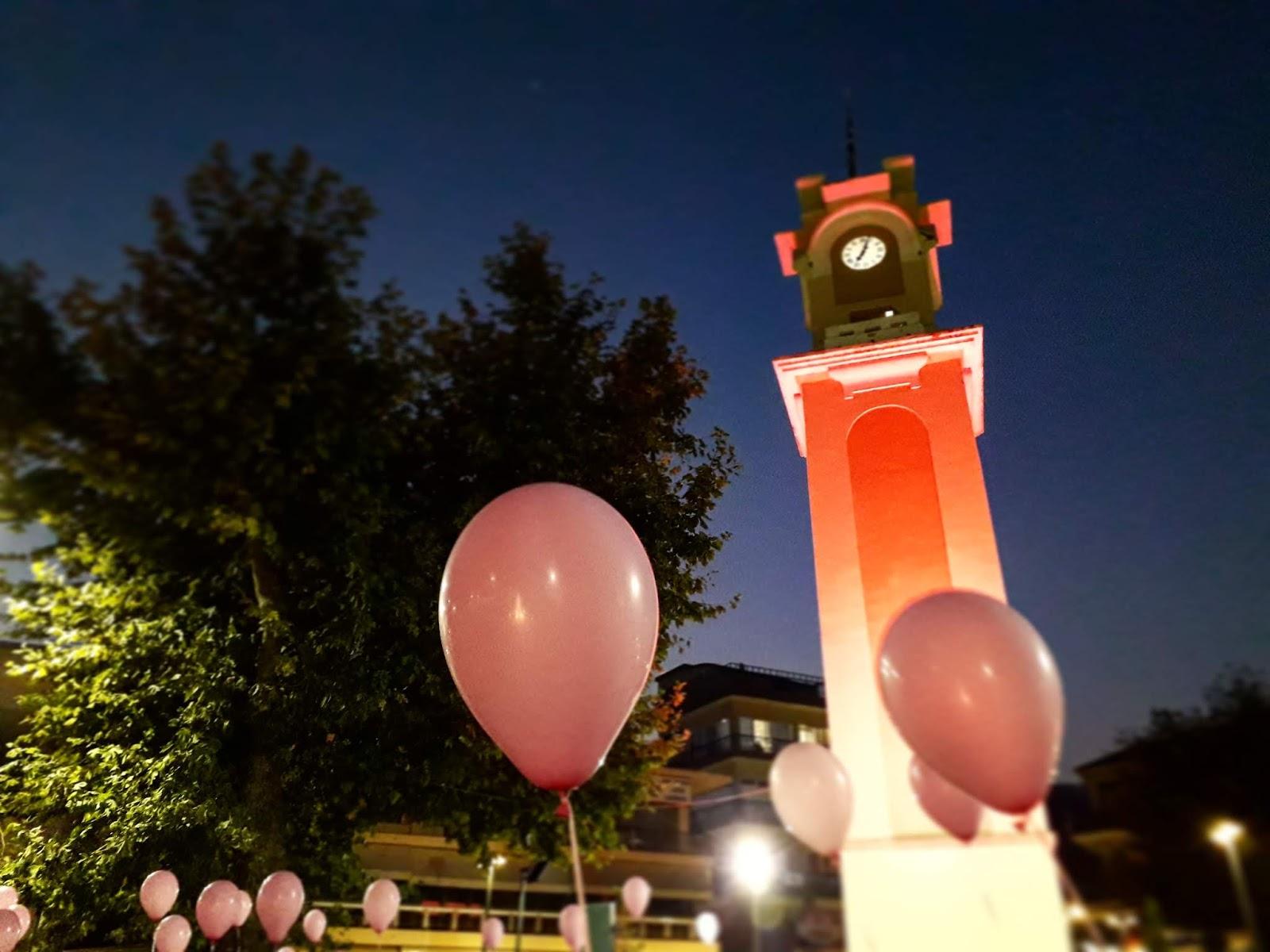 Ξάνθη: Γίνεται ροζ το Ρολόι της πλατείας για τον καρκίνο του μαστού