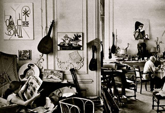 Mondoblogo Picasso In His Studio Villa Quot La Californie Quot