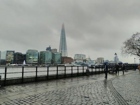 Menneitä matkoja: The View from The Shard, Lontoo