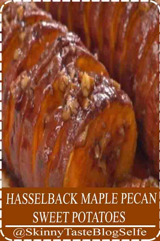 4,7 | ★★★★★ How perfect for autumn are these sweet potatoes? Not only are the root veggies just about to come into season, they pair so well with every dish we start craving around this time of year— and in turn, this maple pecan butter pairs so perfectly with them. Brilliant and delicious! #HASSELBACK #MAPLE #PECAN #SWEETPOTATOES #delicious