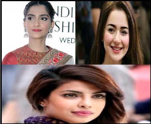 actresses, pakistani, indian, beautiful