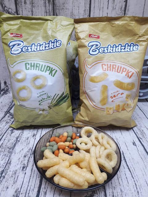 Chrupki serowe i cebulowe BESKIDzKIE
