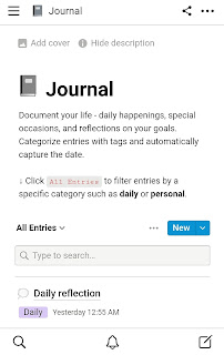 Notion Journal
