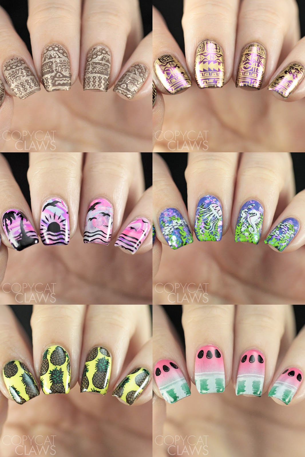 Copycat Claws: Whats Up Nails Stamping Plates...and more!