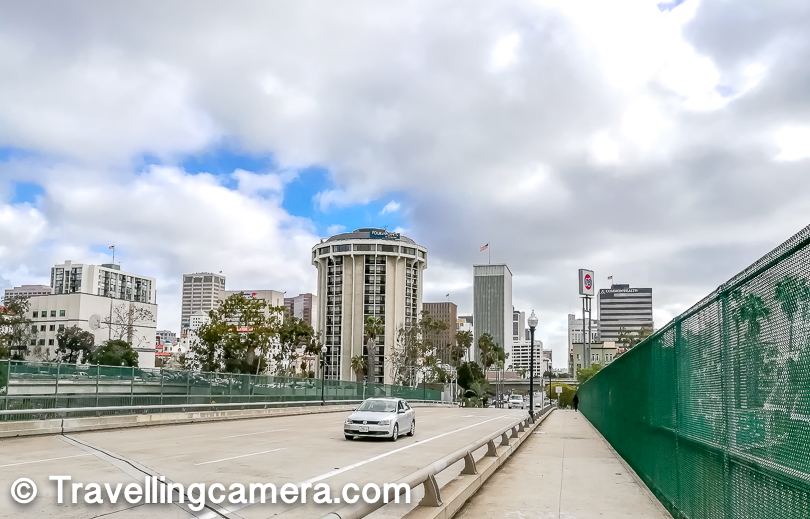 This is one of the views of Downtown while walking from our Homestay towards MTS station.
