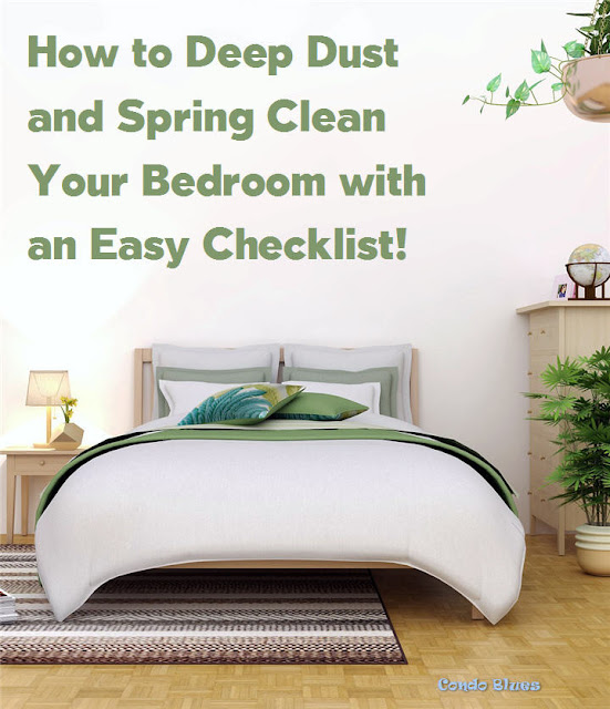 My Bedroom Deep Spring Cleaning Checklist for Dust Allergies