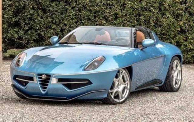 Alfa Romeo Touring Superleggera Disco Volante Spyder