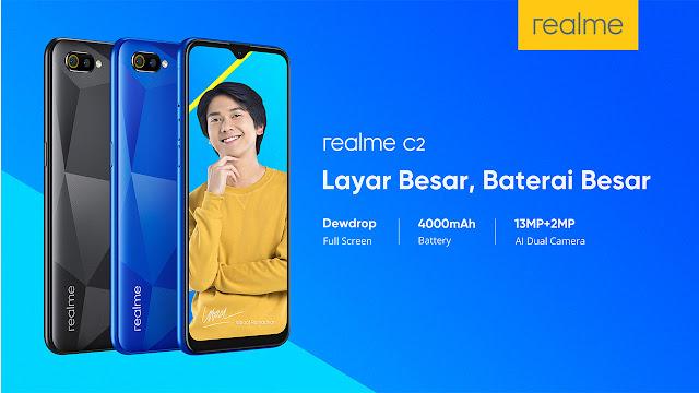 Realme C2 Android yang Enak Untuk Main PUBG 2019