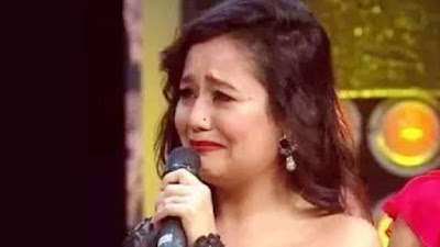 Neha Kakkar sing emotional song video viral on social media