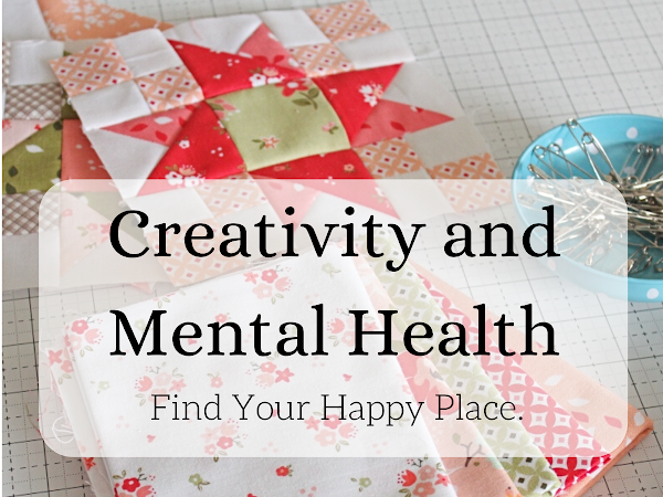 """Creativity and Mental Health - Find Your Happy Place. <img src=""""https://pic.sopili.net/pub/emoji/twitter/2/72x72/2702.png"""" width=20 height=20>"""