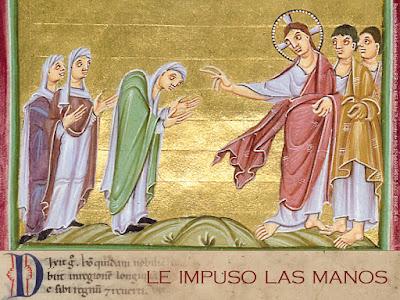 Evangelio según san Lucas (13, 10-17): Mujer, quedas libre de tu enfermedad