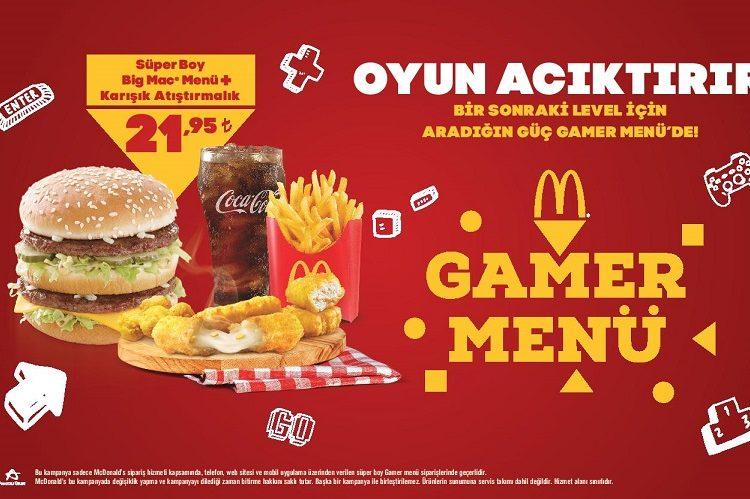 Mcdonald's Gamer Menü Espor