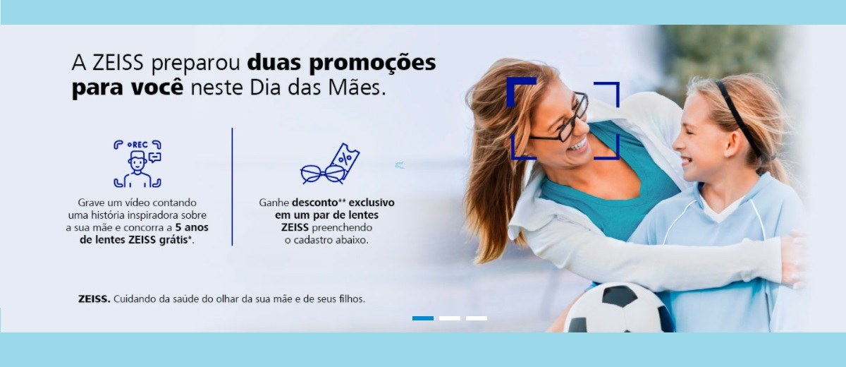 Promoção ZEISS Mês das Mães 2021 Cadastrar