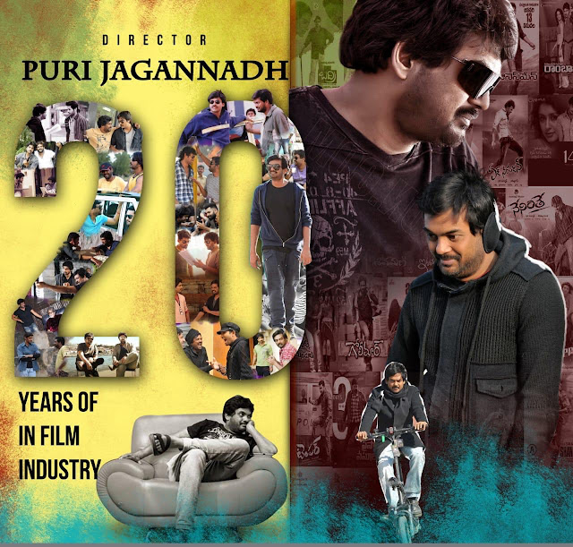 Puri Jagannadh Common DP to Celebrate 20 Years of TFI