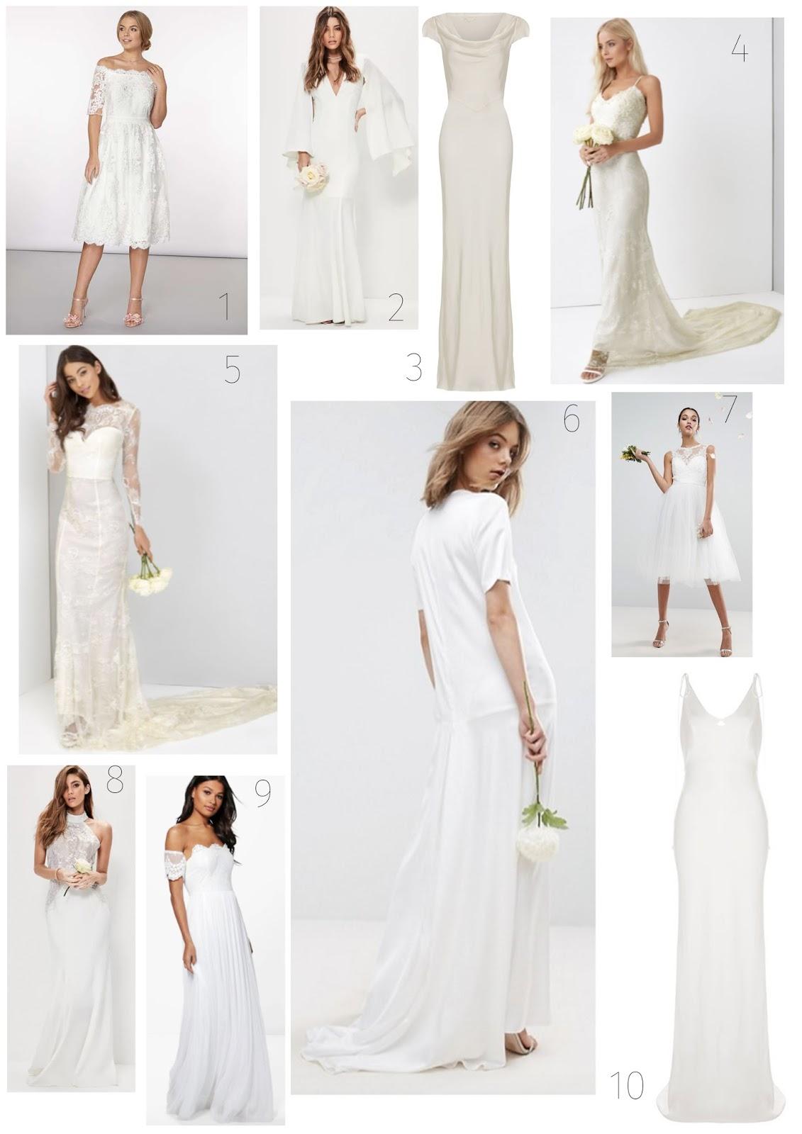 Top Ten Wedding Dresses from the Highstreet (£350 & Under) - Studs ...