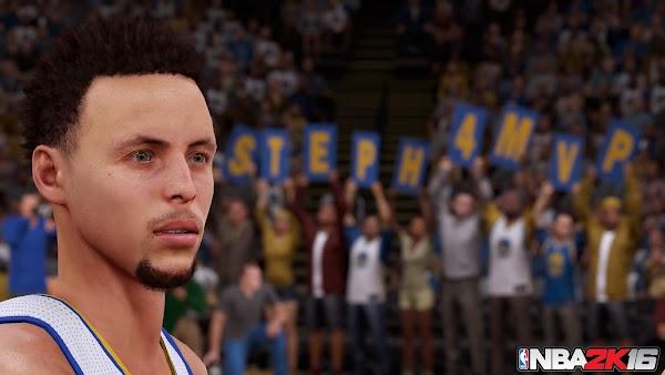 NBA 2K16 4K Screenshots - Stephen Curry