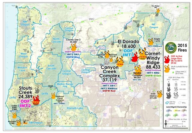 Oregon Fires Map Exodoinvest
