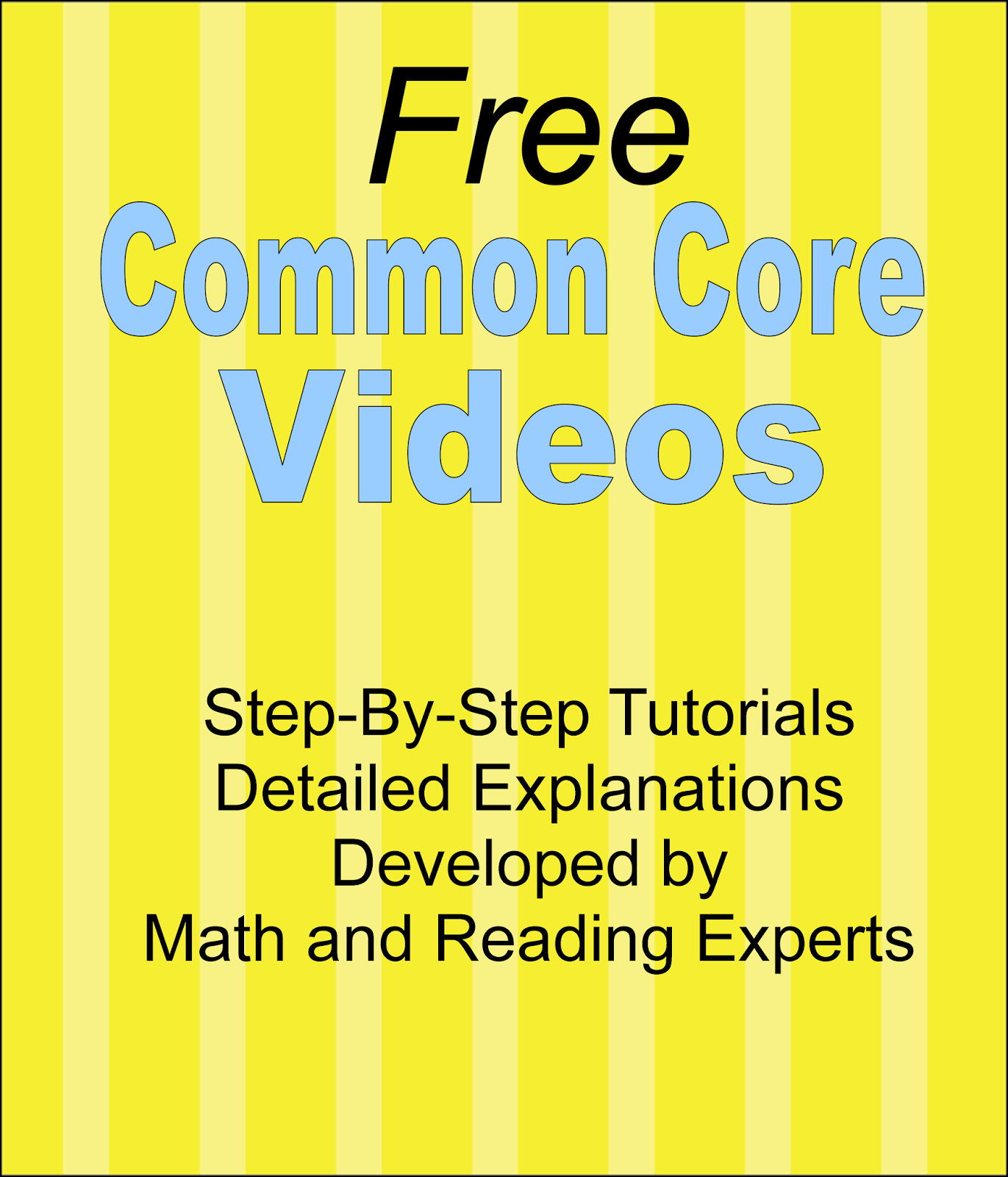 Literacy Amp Math Ideas Common Core Reading And Math Videos