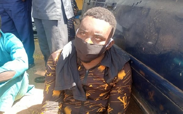 """I killed my mother because she was a witch - Nigerian runaway soldier confesses"""