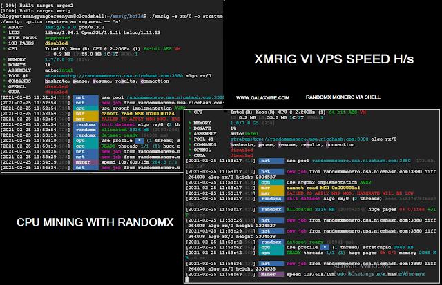 Script mining xmrig di VPS Linux
