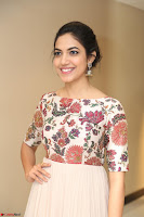 Ritu Varma smiling face Cream Anarkali dress at launch of OPPO New Selfie Camera F3 ~  Exclusive 101.JPG