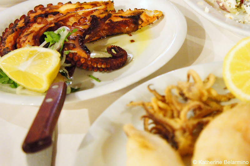 Octopus and Squid Ta Neoria Places to Eat in Chania Crete