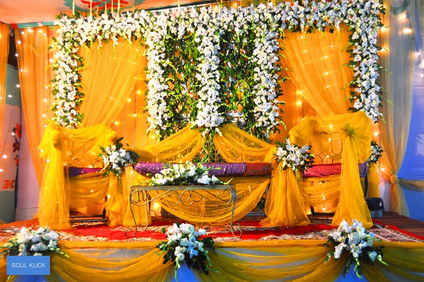 Bengali Wedding Guide Gaye Holud Or Biye Simple Stage Design