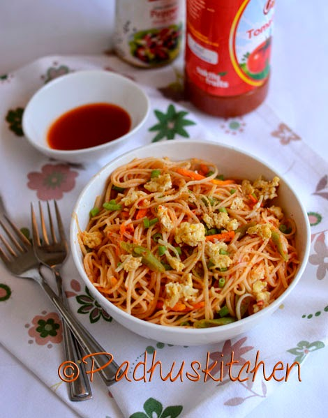 Egg Noodles Recipe Indian Style