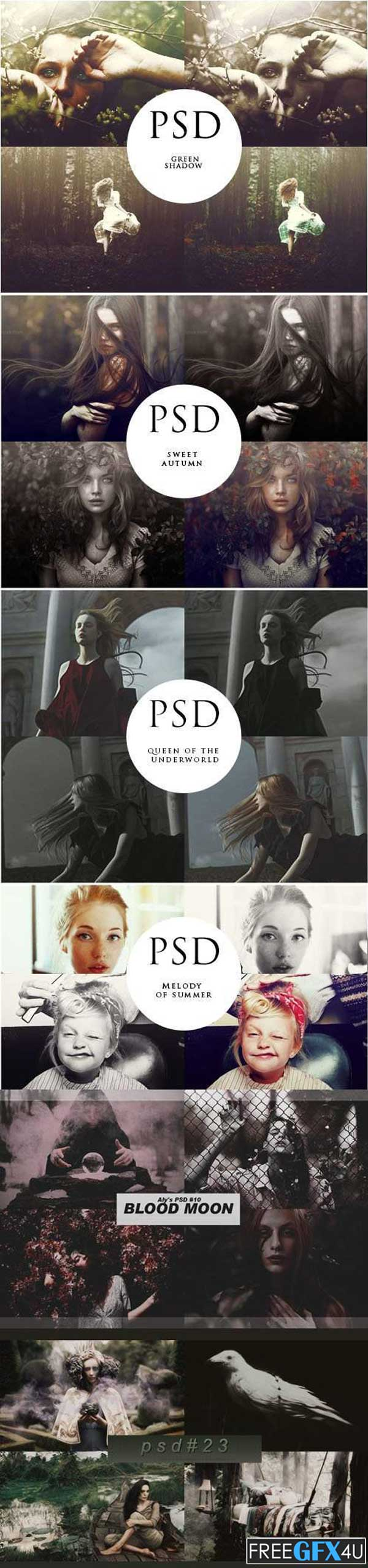 Coloring Effects - PSD Templates