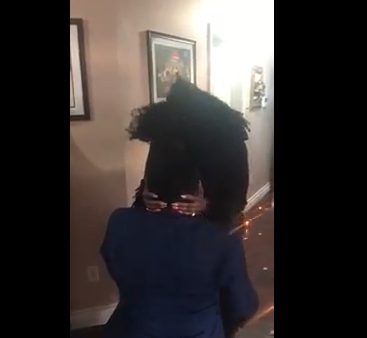 Mother of 4 in Previous Relationship Weeps as She Was Proposed to By Her Nigerian Boyfriend