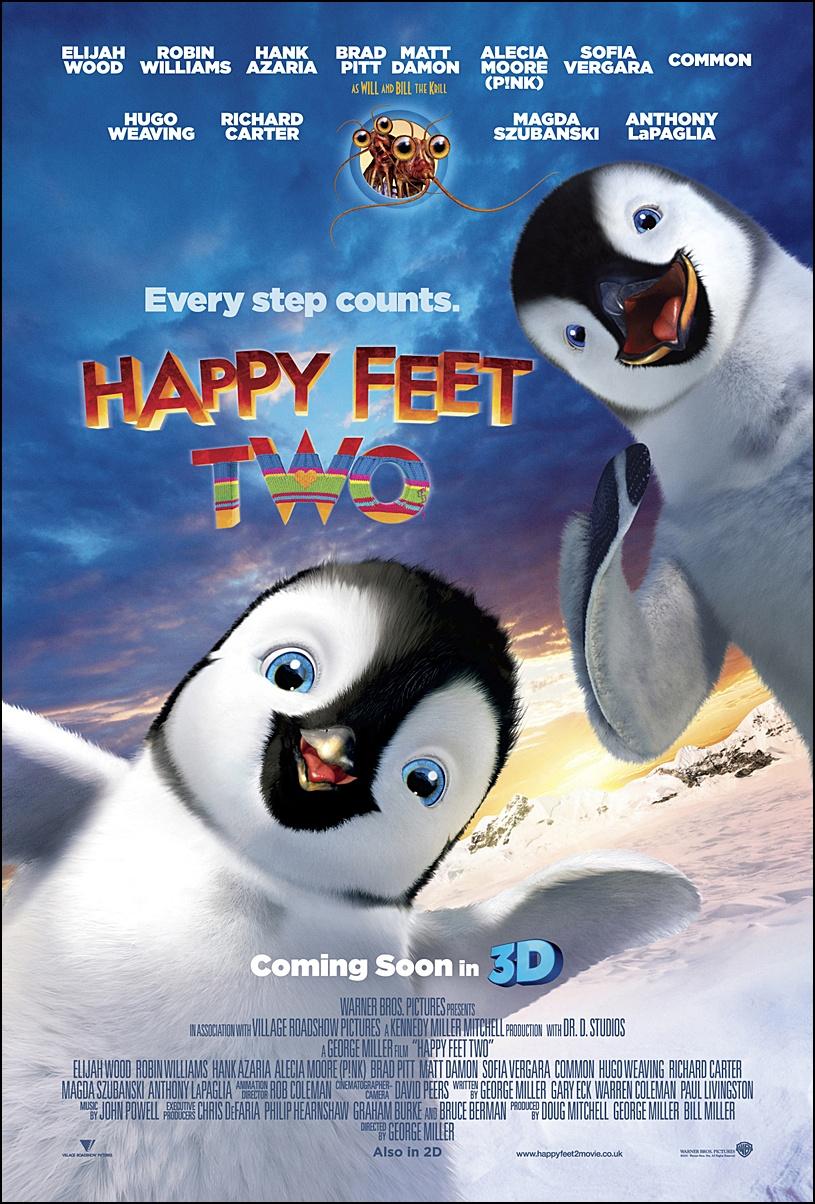 HAPPY FEET 2 เพนกวินกลมปุ๊ก ลุกขึ้นมาเต้น 2: HAPPY FEET 2 แฮปปี้ ฟีต เพนกวินกลมปุ๊ก  ลุกขึ้นมาเต้น