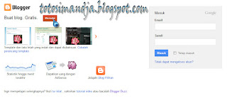 Cara Express Membuat Blog di Blogger