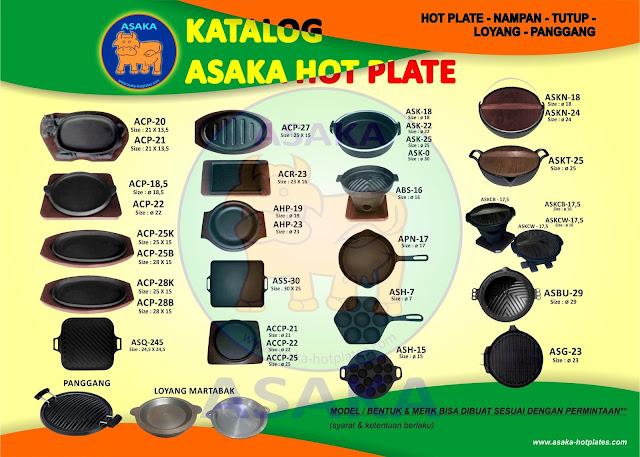 Jual Hotplate Murah berkualitas, Asaka hot plate steak,jual hotplate murah,produksi hotplate, grosir hotplate,hotplate terlengkap,asaka hotplate steak