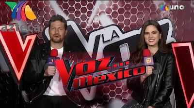 Eddy Villard y Sofía Aragón La Voz