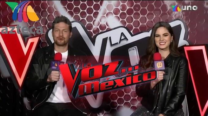 Eddy Villard y Sofía Aragón los Conductores de La Voz México 2020