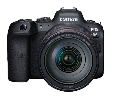 Canon EOS R6 Key Specifications
