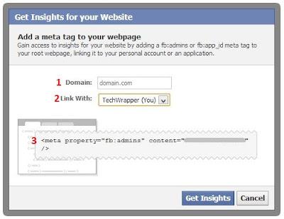 Facebook Website Insights Tutorial