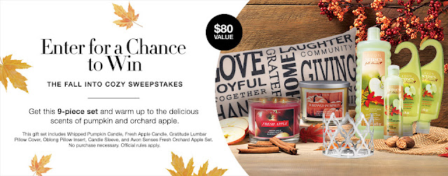 Enter For A Chance To Win The Fall Into Cozy Sweepstakes No Purchase Necessary.