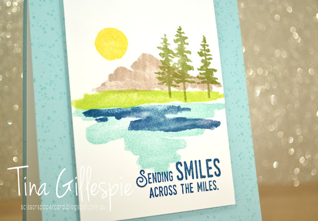 scissorspapercard, Stampin' Up!, Waterfront, Lift Me Up