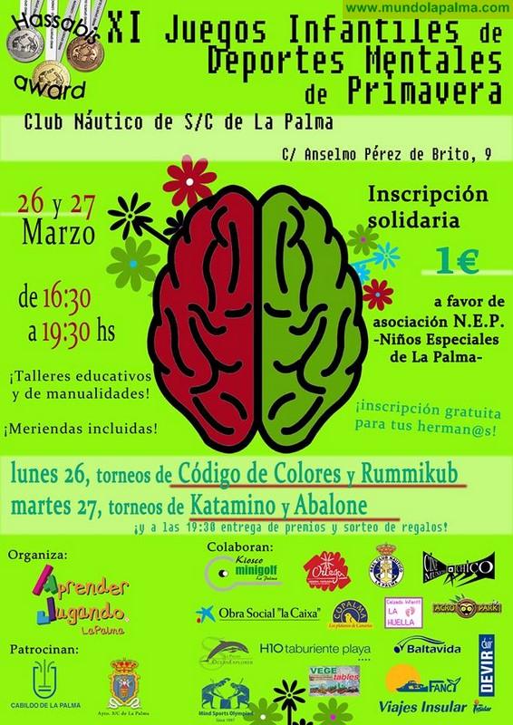 Aprender Jugando La Palma celebra los XI Juegos Infantiles de Deportes Mentales de Primavera