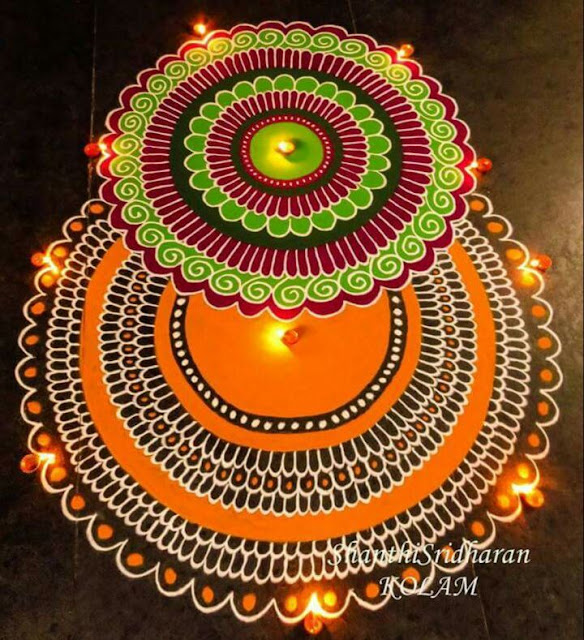Happy Diwali Rangoli, Photos, Images, Pictures 2016