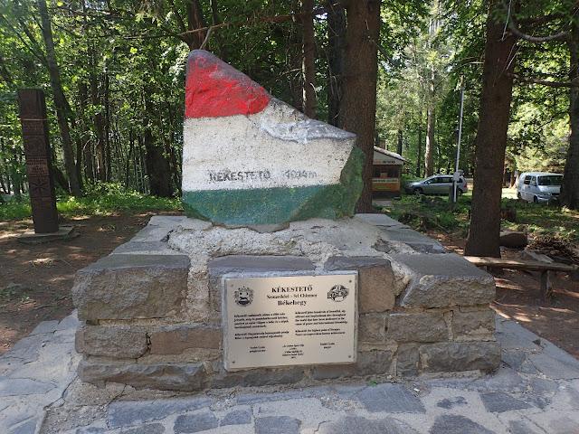 """Najwyższy """"szczyt"""" Węgier - Kekes (1014)"""